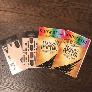 Other - Harry Potter and The Cursed Child playbill/sticker